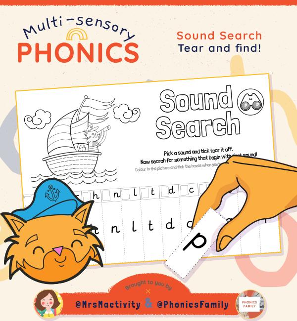 Sounds Search - Phonics Family Range