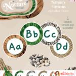 Natural display lettering
