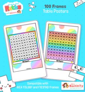 100 Square Desk Prompt - Tolsby/Fiestad Frame