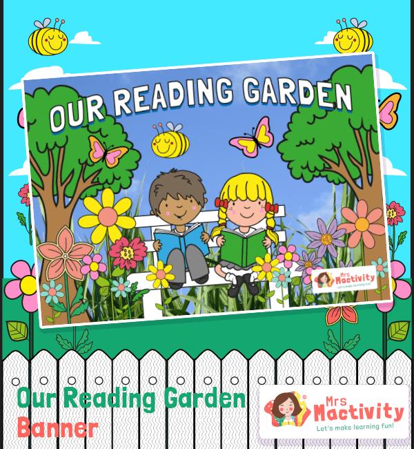reading garden instant display pack