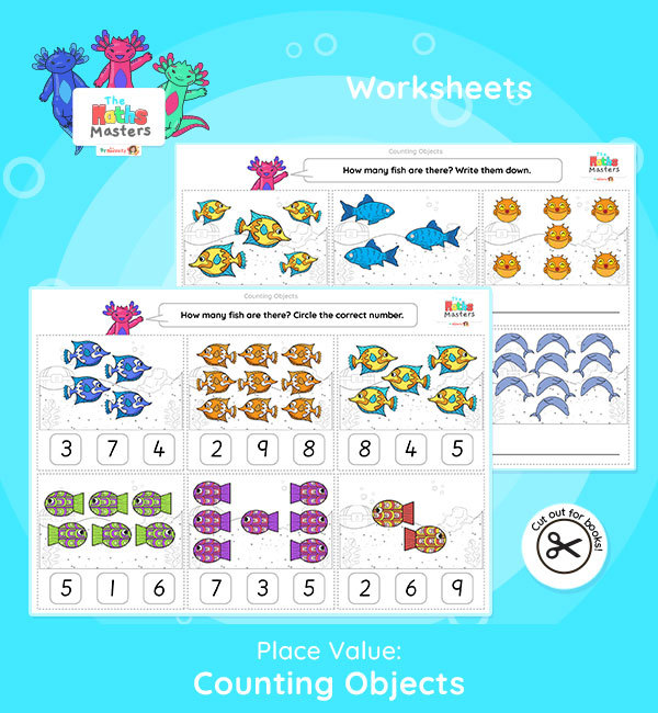 Year 1 | Counting Objects to 10 Worksheets