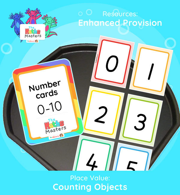 Year 1 | Ordering Numbers to 10 Enhanced Provision | Practical Activity