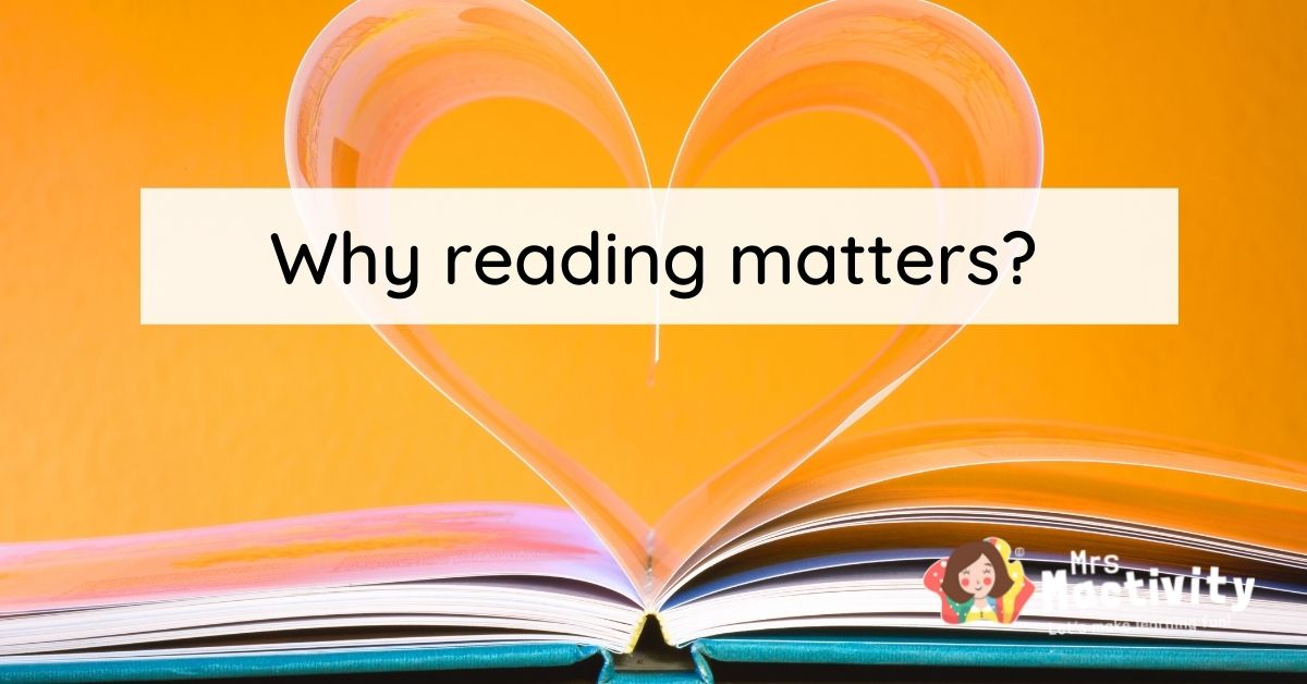 Why reading matters?