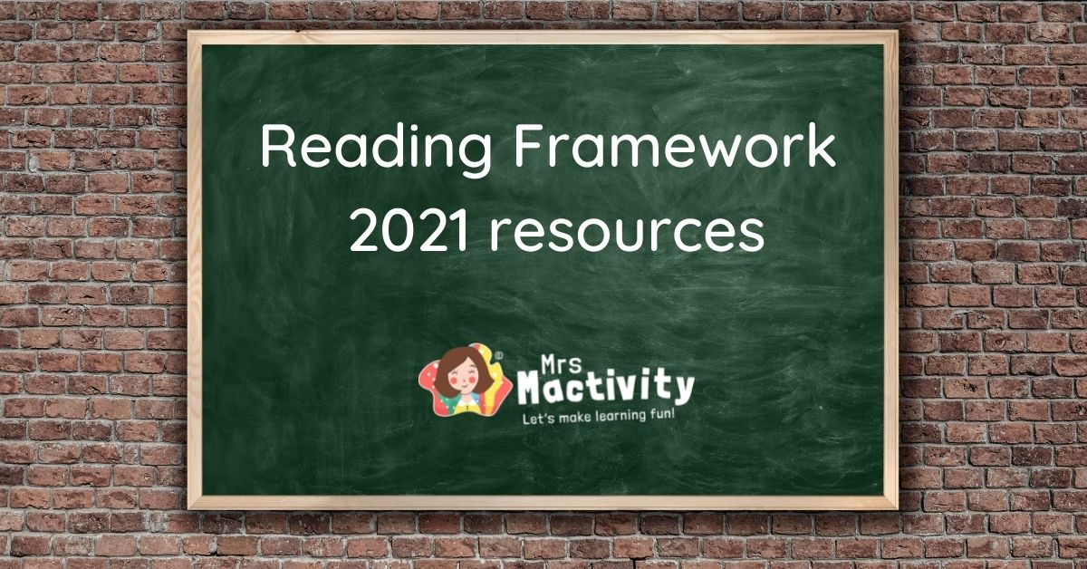 Reading framework 2021 resources
