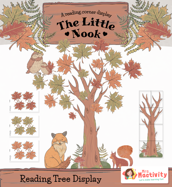The Reading Nook Reading Tree Instant Display Pack