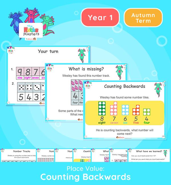Year 1 | Counting Backwards Lesson Presentation