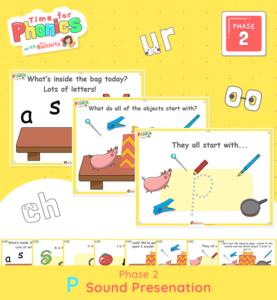 Phase 2 Phonics Lesson Presentation | P Sound