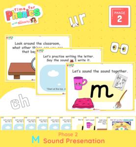 Phase 2 Phonics Lesson Presentation | M Sound