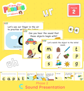 Phase 2 Phonics Lesson Presentation | C Sound