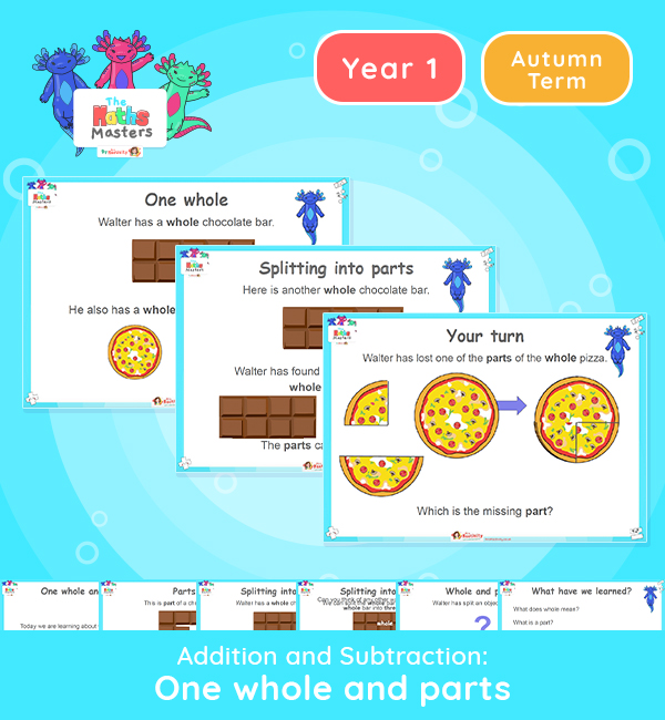 Year 1 | Wholes and Parts Lesson Presentation