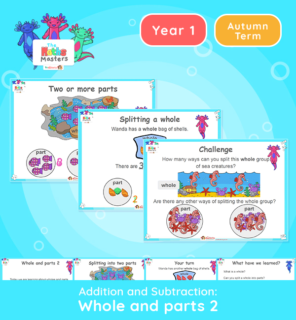 Year 1 | Wholes and Parts 2 Lesson Presentation
