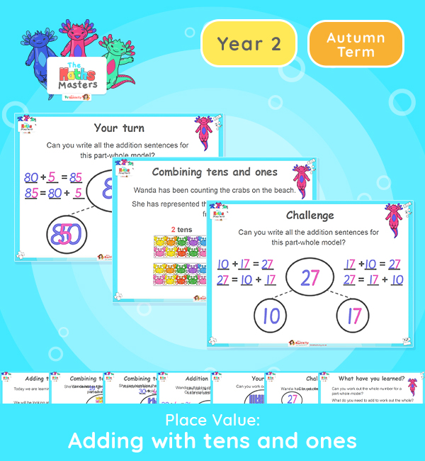 Year 2 | Adding with 10s and 1s Lesson Presentation