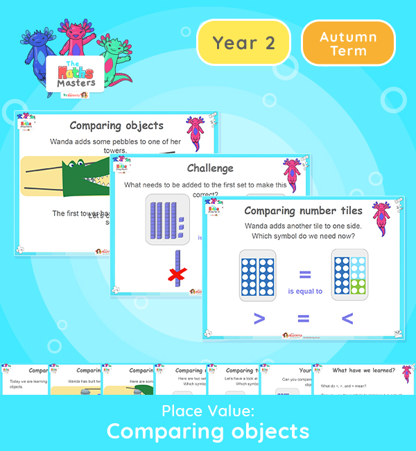 Year 2 | Comparing Objects Lesson Presentation