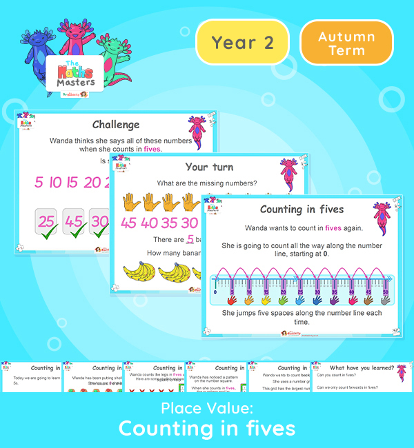Year 2 | Counting in 5s Lesson Presentation