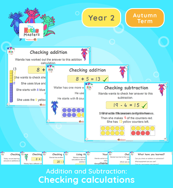 Year 2 | Checking Calculations Lesson Presentation