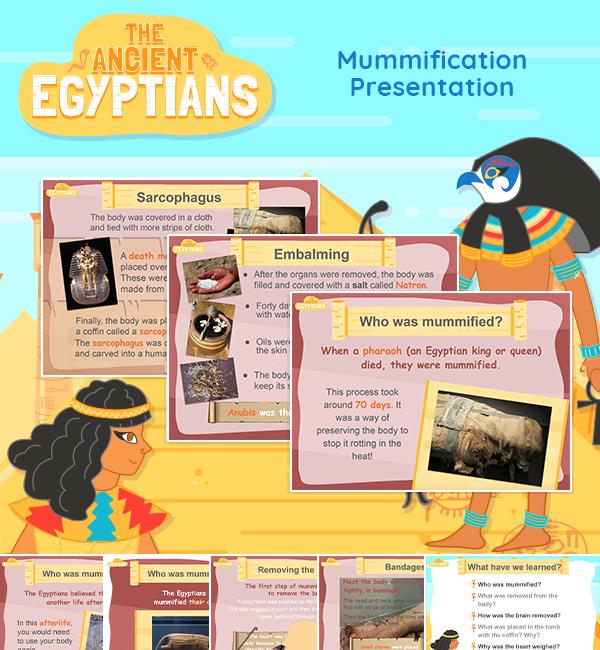 mummification teaching presentation