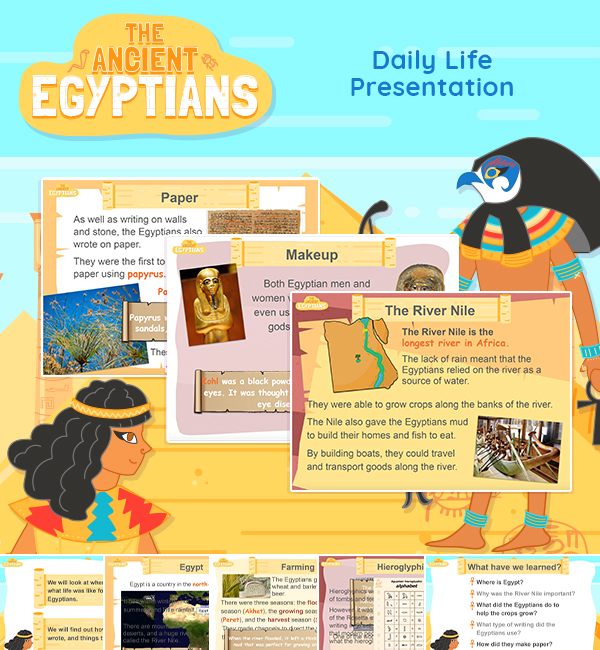 Ancient Egypt Daily Life Lesson Presentation