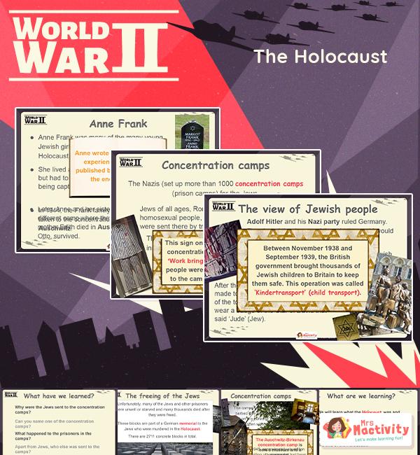 Holocaust KS2 lesson presentation