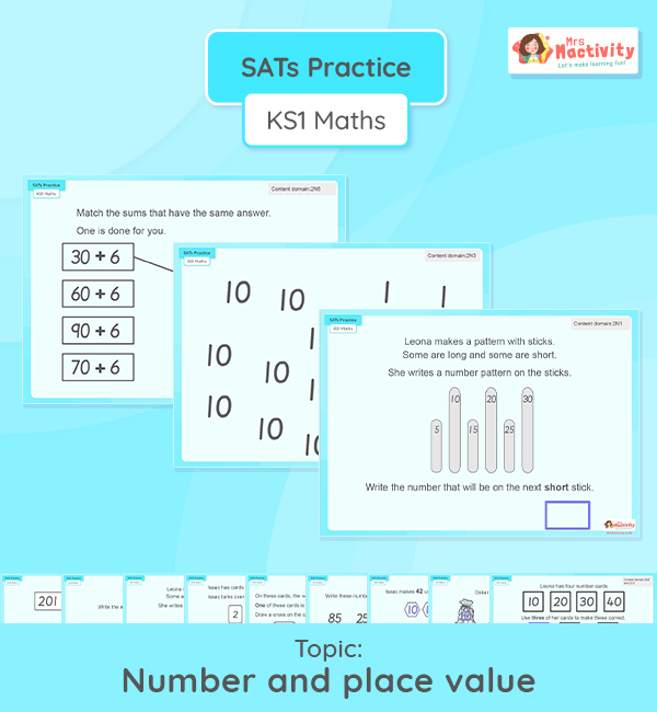 KS1 SATs Number and Place Value Reasoning Practice Presentation