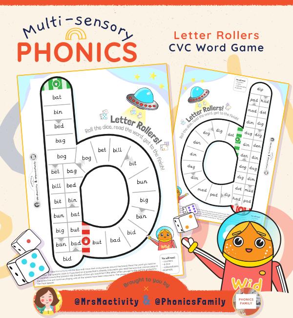phonics family resources