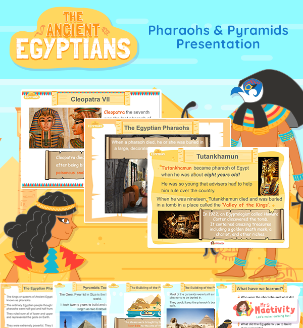 Pharaohs and pyramids primary resources