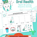 Oral Health Teeth Brushing Sequencing