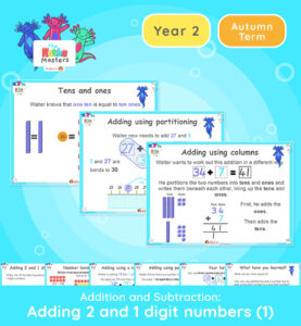 Year 2 | Adding 2 and 1 Digit Numbers Lesson Presentation
