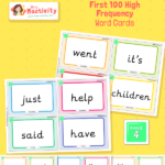 Phonics First 100 High Frequency Words Cards Phase 4