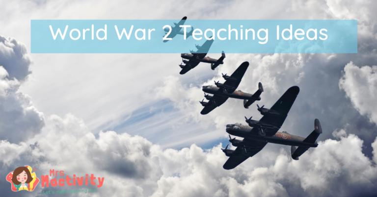 World war 2 lesson ideas KS2