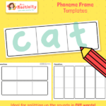 Phonics Phoneme frame Template