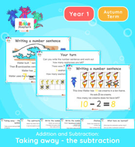 Year 1 | Taking Away Using the Subtraction Symbol Lesson Presentation
