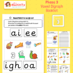 Phase 3 Vowel Digraphs Consolidation Booklet